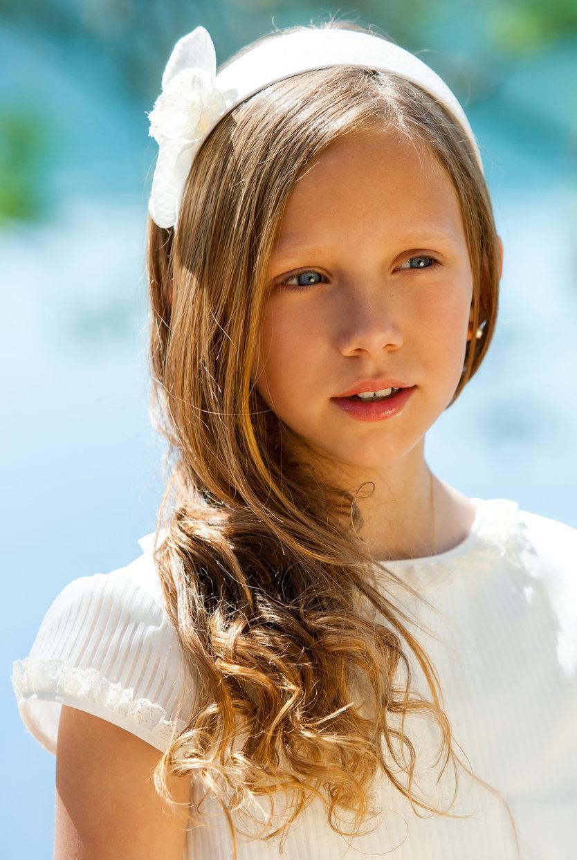 Kommunionkinder mädchen für frisuren Kurze Haare